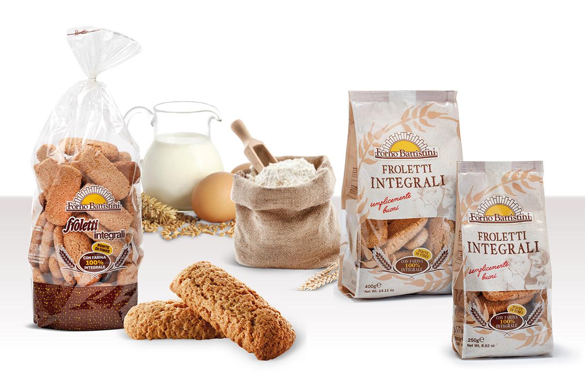 Biscotti Froletti integrali - Forno Battistini