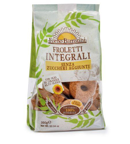 Biscotti Froletti Integrali senza zuccheri aggiunti
