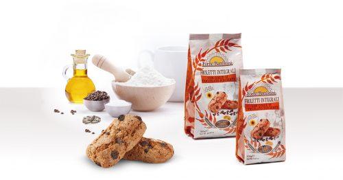 Biscotti froletti integrali con gocce di cioccolato fondente